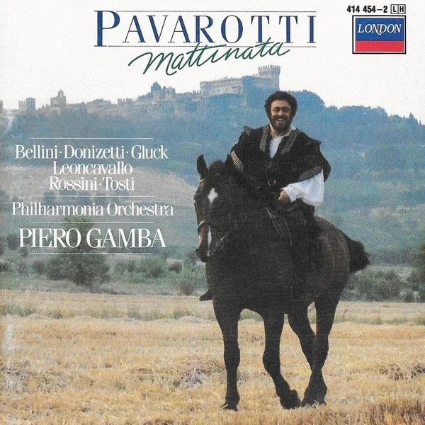 pavarotti on a horse