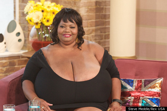 Annie Hawkins biggest breasts in the world
