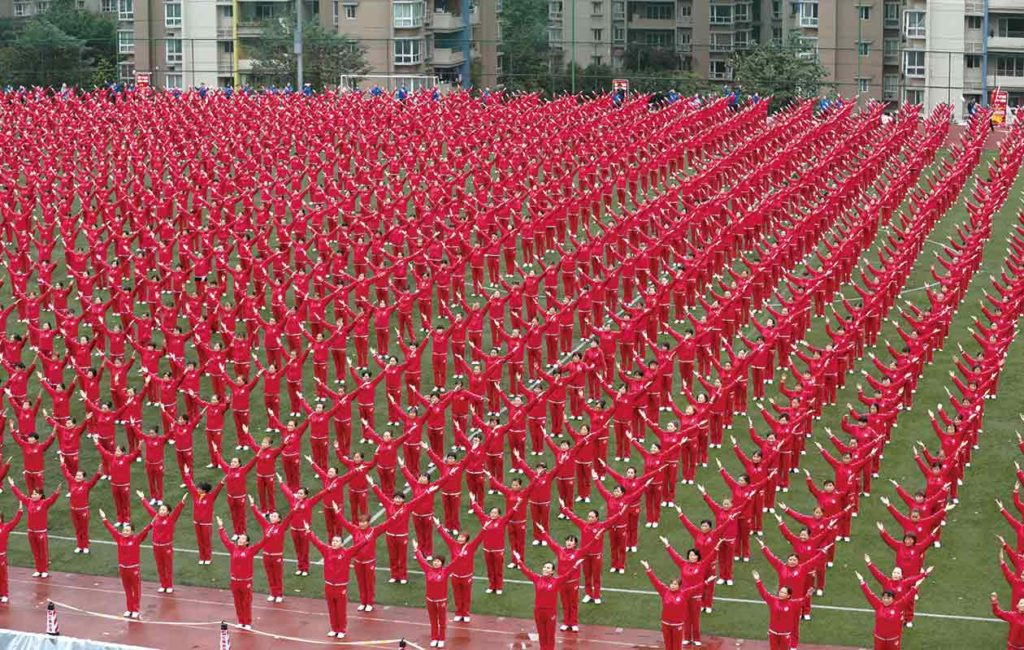 largest line dance